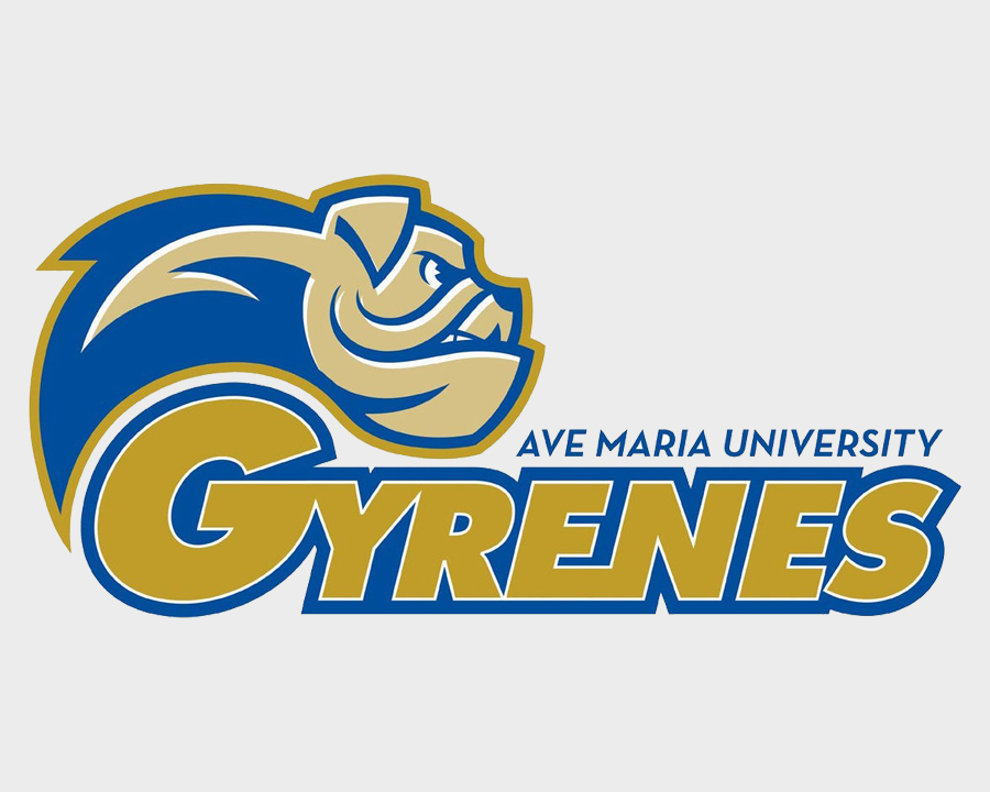 Ave Maria uNIVERSITY ATHLETICS LOGO